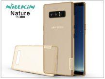 Samsung N950F Galaxy Note 8 szilikon hátlap - Nillkin Nature - aranybarna
