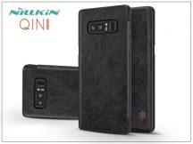 Samsung N950F Galaxy Note 8 oldalra nyíló flipes tok - Nillkin Qin - fekete