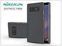 Samsung N950F Galaxy Note 8 hátlap - Nillkin Synthetic Fiber - fekete