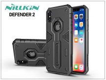 Apple iPhone X ütésálló védőtok - Nillkin Defender 2 - fekete