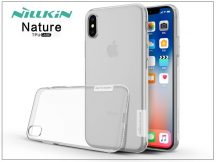 Apple iPhone X szilikon hátlap - Nillkin Nature - transparent