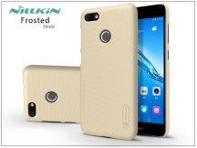 Huawei P9 Lite Mini hátlap képernyővédő fóliával - Nillkin Frosted Shield - gold
