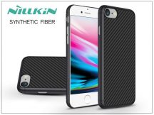 Apple iPhone 8 hátlap - Nillkin Synthetic Fiber - fekete