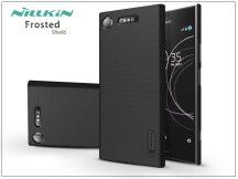Sony Xperia XZ1 (G8341) hátlap képernyővédő fóliával - Nillkin Frosted Shield - fekete