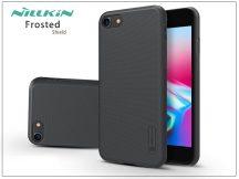 Apple iPhone 8 hátlap képernyővédő fóliával - Nillkin Frosted Shield - fekete