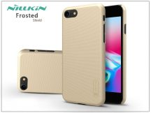 Apple iPhone 7/8 hátlap képernyővédő fóliával - Nillkin Frosted Shield - gold