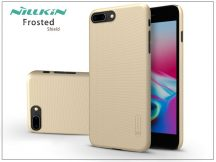 Apple iPhone 8 Plus hátlap képernyővédő fóliával - Nillkin Frosted Shield - gold