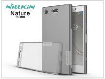 Sony Xperia XZ1 Compact (G8441) szilikon hátlap - Nillkin Nature - szürke