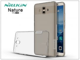 Huawei Mate 10 szilikon hátlap - Nillkin Nature - szürke
