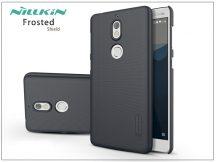 Nokia 7 hátlap képernyővédő fóliával - Nillkin Frosted Shield - fekete