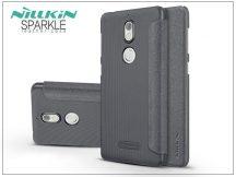 Nokia 7 oldalra nyíló flipes tok - Nillkin Sparkle - fekete