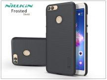 Huawei P Smart hátlap képernyővédő fóliával - Nillkin Frosted Shield - fekete