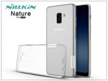 Samsung A730F Galaxy A8 Plus (2018) szilikon hátlap - Nillkin Nature - transparent