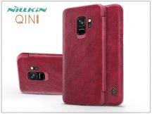 Samsung G960F Galaxy S9 oldalra nyíló flipes tok - Nillkin Qin - piros