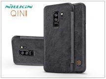 Samsung G965F Galaxy S9 Plus oldalra nyíló flipes tok - Nillkin Qin - fekete