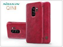 Samsung G965F Galaxy S9 Plus oldalra nyíló flipes tok - Nillkin Qin - piros