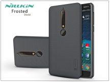 Nokia 6 (2018) hátlap képernyővédő fóliával - Nillkin Frosted Shield - fekete