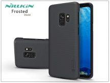 Samsung G960F Galaxy S9 hátlap képernyővédő fóliával - Nillkin Frosted Shield - fekete