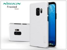 Samsung G960F Galaxy S9 hátlap képernyővédő fóliával - Nillkin Frosted Shield - fehér