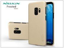 Samsung G960F Galaxy S9 hátlap képernyővédő fóliával - Nillkin Frosted Shield - gold