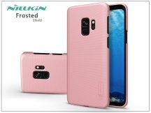 Samsung G960F Galaxy S9 hátlap képernyővédő fóliával - Nillkin Frosted Shield - rose gold