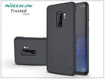Samsung G965F Galaxy S9 Plus hátlap - Nillkin Frosted Shield - fekete