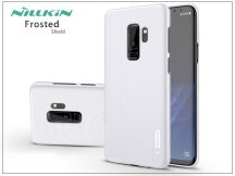 Samsung G965F Galaxy S9 Plus hátlap képernyővédő fóliával - Nillkin Frosted Shield - fehér