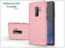 Samsung G965F Galaxy S9 Plus hátlap képernyővédő fóliával - Nillkin Frosted Shield - rose gold
