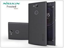 Sony Xperia XA2 (H3113/H3123/H3133/H4113/H4133) hátlap képernyővédő fóliával - Nillkin Frosted Shield - fekete