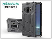 Samsung G960F Galaxy S9 ütésálló védőtok - Nillkin Defender 2 - fekete
