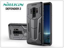 Samsung G965F Galaxy S9 Plus ütésálló védőtok - Nillkin Defender 2 - fekete