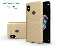 Xiaomi Redmi Note 5/Note 5 Pro hátlap - Nillkin Frosted Shield - gold