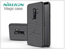 Samsung G965F Galaxy S9 Plus hátlap beépített mágnessel Nillkin autós tartóhoz - Nillkin Magic Case - fekete