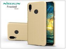 Huawei P20 Lite hátlap képernyővédő fóliával - Nillkin Frosted Shield - gold