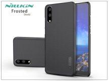 Huawei P20 hátlap képernyővédő fóliával - Nillkin Frosted Shield - fekete