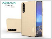 Huawei P20 Pro hátlap képernyővédő fóliával - Nillkin Frosted Shield - gold