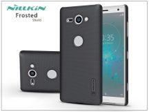 Sony Xperia XZ2 Compact (H8314/H8324) hátlap képernyővédő fóliával - Nillkin Frosted Shield - fekete