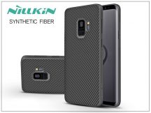 Samsung G960F Galaxy S9 hátlap - Nillkin Synthetic Fiber - fekete