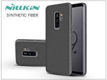 Samsung G965F Galaxy S9 Plus hátlap - Nillkin Synthetic Fiber - fekete