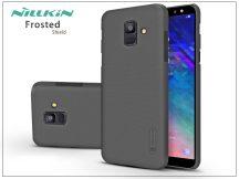 Samsung A600F Galaxy A6 (2018) hátlap - Nillkin Frosted Shield - fekete