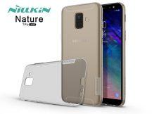 Samsung A600F Galaxy A6 (2018) szilikon hátlap - Nillkin Nature - szürke