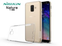 Samsung A600F Galaxy A6 (2018) szilikon hátlap - Nillkin Nature - transparent