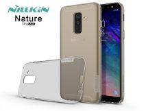 Samsung A605 Galaxy A6 Plus (2018) szilikon hátlap - Nillkin Nature - szürke
