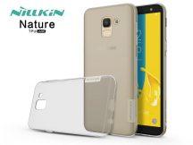 Samsung J600F Galaxy J6 (2018) szilikon hátlap - Nillkin Nature - szürke