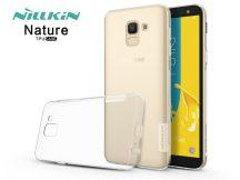 Samsung J600F Galaxy J6 (2018) szilikon hátlap - Nillkin Nature - transparent