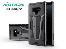 Samsung N960F Galaxy Note 9 ütésálló védőtok - Nillkin Defender 2 - fekete