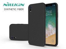 Apple iPhone XR hátlap - Nillkin Synthetic Fiber - fekete