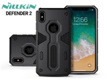 Apple iPhone XS Max ütésálló védőtok - Nillkin Defender 2 - fekete