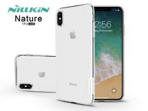 Apple iPhone XS Max szilikon hátlap - Nillkin Nature - transparent
