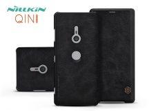 Sony Xperia XZ3 (H9436) oldalra nyíló flipes tok - Nillkin Qin - fekete